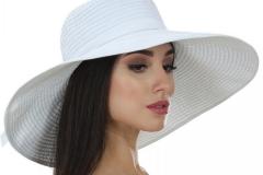 купить белую летнюю шляпу