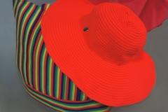 купить пляжную летнюю сумку шляпу парео