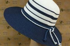 летняя шляпа в морском стиле