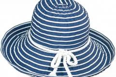 shlyapa leto сине-белая шляпа