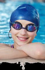 Шапочки и очки для плавания